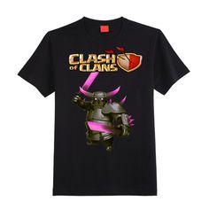 "CLASH OF CLANS T-SHIRT ""P.E.K.K.A"" Yalex shirt available size S,M,L,XL ADULTS  & KIDS Contact: 09212595180"
