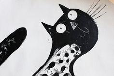 Black Cat by Hazel Terry by Hazel Terry, via Flickr