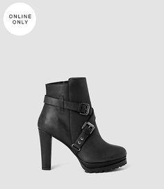 Women's Aden Boot (Black) -