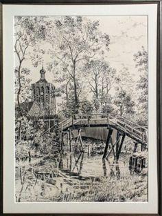 Jope Huisman 1922-2000. Early drawing