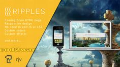 Mojo-Themes - Ripples - Responsive Coming Soon HTML - RIP