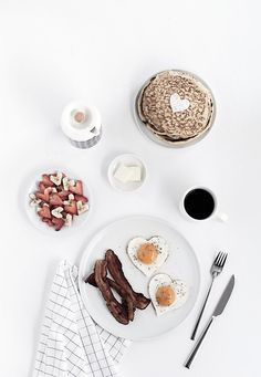 Heart-Shaped Brunch - Homey Oh My!