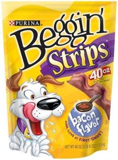 PURINA 381075 4Pack Beggin Strips Original Bacon Food for Pets 40Ounce -- Read more at the image link.