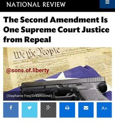Everyone needs to read and understand this... When a Nations judges become corrupt those nations crumble into ruins... Follow my Twitter feed @_joinordie for link to article... #2ndAmendment #guns #rifle #shotgun #shoot #nationalreview #usa #2a #3p #libertyordeath #livefreeordie ##donttreadonme #sonsofliberty ##molonlabe #patriot #PutUpOrShutUp #JOINORDIE by sons.of.liberty