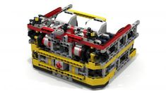 "LEGO MOC MOC-3866 ""Fllying Box Turtle"" EV3 Robot - building instructions and parts list."