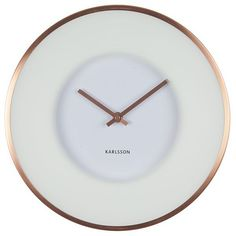 Karlsson+Illusion+Wall+Clock+-+White+-+Show+off+your+penchant+for+captivating+design+with+the+Karlsson+Illusion+Wall+Clock+-+White…