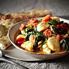 Halloumi+&+Spinach+Curry - from Lakeland