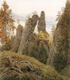 Friedrich, Caspar David: Das Tor auf dem Neurathen