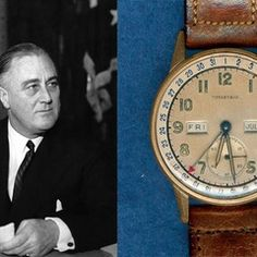 """Presidential Watches: 9 Timepieces Owned by U.S. Presidents"" via @watchville"