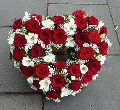 Bildergebnis für trauerherz rot weiß