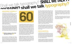 Magazine Layout Design by Michael McCarty