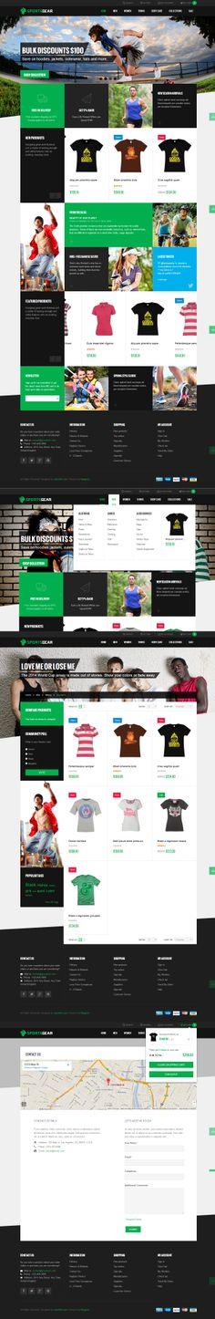 SportsGear - Magento template jm-sportsgear.demo.joomlart.com
