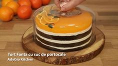Tort fanta mod de servire Cake Recipes, Dessert Recipes, Desserts, Romanian Food, Food Cakes, Tailgate Desserts, Cakes, Deserts, Easy Cake Recipes