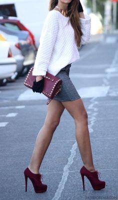 ✤ Fashionista ✤ those shooooooes<3