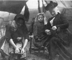 """July 7, 1903:  Mary Harris """"Mother"""" Jones begins the """"Children's Crusade.""""  Accompanied by child mine and mill workers, she walked from Philadelphia, Pennsylvania, to President Theodore Roosevelt's home in New York state to protest the plight of child laborers."""