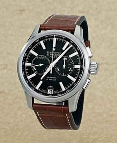 www.watchtime.com | reviews  | Pilots Watch Review: Zenith Captain Pilot Chronograph | Zenith Captain Pilot front 560 $6,400