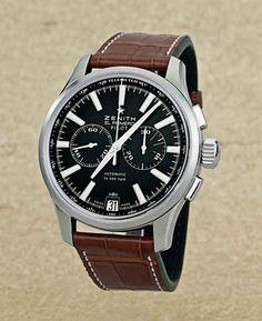 #Zenith Captain Pilot Chronograph http://www.maier.fr/montres-prestige/montre-collection-horlogerie-luxe?post-home=&marques%5B%5D=41