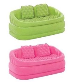 Inflatable couch and pillows... Lets just get these ;)