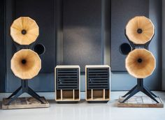 Imperia Horn loudspeaker by Oswalds Mill Audio