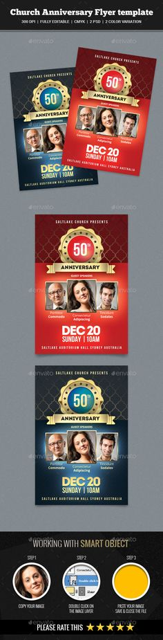 Pastor Anniversary Flyer Pastor anniversary, Flyer template and - anniversary flyer