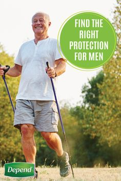 Is incontinence preventing you from tackling the day with confidence? Get back to doing what you love with Depend®. Not only is this a discreet solution that will stay hidden beneath your everyday clothing, but they're comfortable enough for you to maintain the active lifestyle you've been longing for. Click to find the right incontinence product for you!