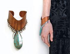 teardrop cuff bracelet