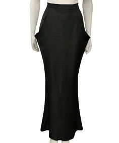 Fernando Frisoni  tori ginni long pocket skirt | SHOP NOW > http://www.threadbare.co/collections/designers-sale/products/tori-ginni-long-pocket-skirt #fernandofrisoni #maxi #skirt #pocket