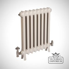 Buy Georgia radiator 2 column 1040mm high., Victorian cast iron radiators - Our tall Georgia 2 column cast iron radiators are a slim traditional Arts and Crafts design which offer a great solution...