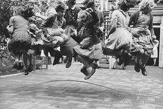 Jump Around! Vintage Skipping Rope      by Kryn Taconis