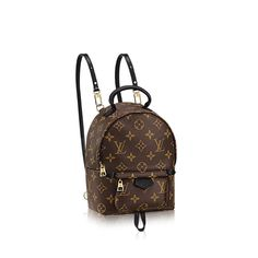 e7cd4b7c56 Palm Springs Backpack Mini Monogram Canvas in Women s Handbags collections  by Louis Vuitton