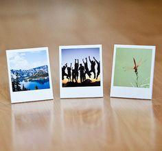 Polaroid picture frames.