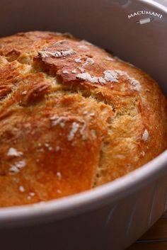 PAN SUPER FACIL SIN AMASAR ( Chapatas sin amasar ) A Food, Good Food, Food And Drink, My Recipes, Cooking Recipes, Types Of Bread, Pan Bread, Bread And Pastries, Tapas