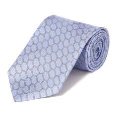 Hexagonal Rope Printed Tie