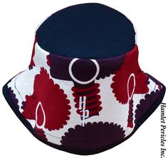 African-Queen Blacktop Bucket Hat  Afro Woman by HamletPericlesInc