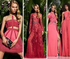 Zuhair Murad coral dresses from Resort!