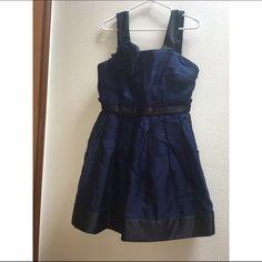 blue and black formal dress new never worn. short Dresses Mini