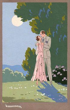 Giovanni Meschini (1888-1977) - Romanticism