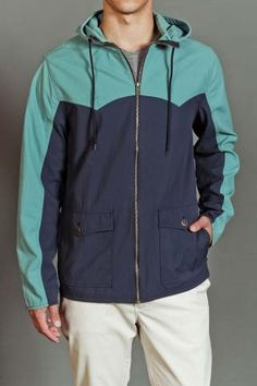 Harbor Jacket Hooded Windbreaker
