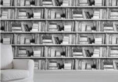 photocopy bookshelf wallpaper 1