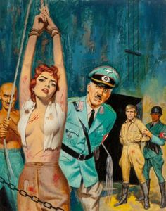 Nazis – Page 3 – Pulp Covers Pulp Fiction Art, Pulp Art, Pulp Magazine, Magazine Art, Book Cover Art, Book Art, Book Covers, Samurai, Adventure Magazine