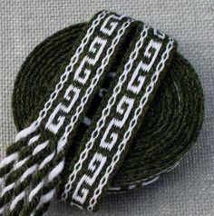 Inkle Weaving Medieval Trim Inkle Woven Hand Woven by inkleing, $28.00