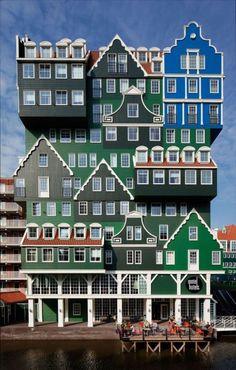 Восхитительная архитектура Амстердама