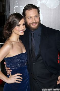 Cute! Tom Hardy And Fiance Charlotte Riley Still Together, Noomi Rapace Dating Rumors False