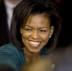 Michelle Obama - politics aside - she is pretty