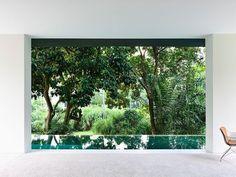 Moderno y Tropical House en Singapur - Fubiz Digital