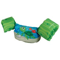Stearns Puddle Jumpers Maui Series Green Turtle