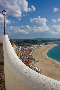 Nazare, Portugal - Travel & Places that I love - Life Pinit Places Around The World, Oh The Places You'll Go, Cool Places To Visit, Places To Travel, Around The Worlds, Visit Portugal, Spain And Portugal, Portugal Travel, Algarve
