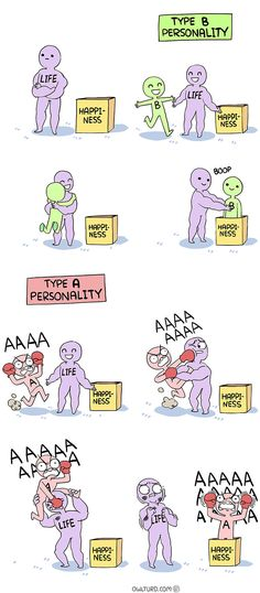 Happiness comics