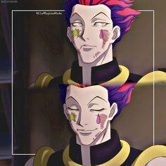 Hisoka Hunter x Hunter | That 'Hmm? Well~ ♠︎' expression drives me nuts! x3