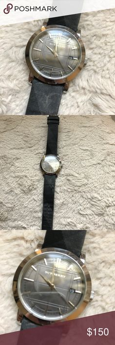 Men's Burberry Watch Has wear as shown in the pics. Price accordingly, open to offers. Bands can be replaced. Burberry Accessories Watches